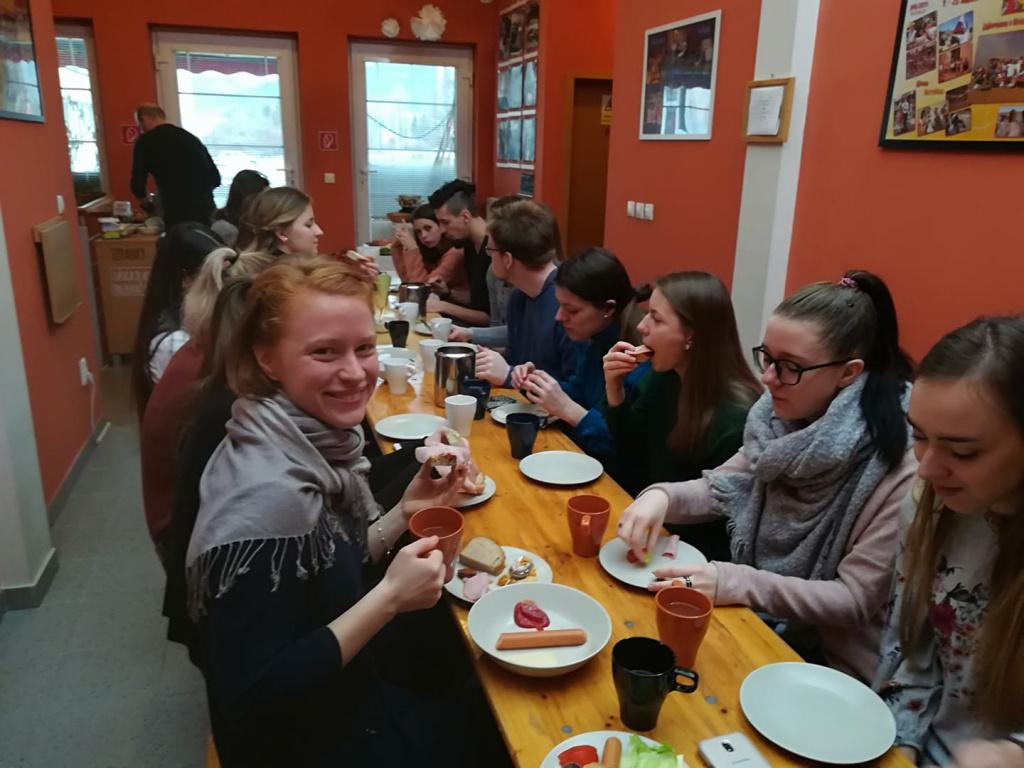 Galeria01 - Raňajky v UPC